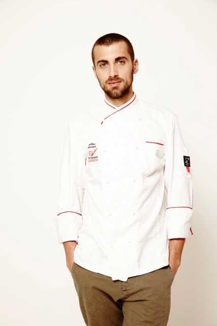 Mattia Borroni Chef del Ristorante Alexander di Ravenna